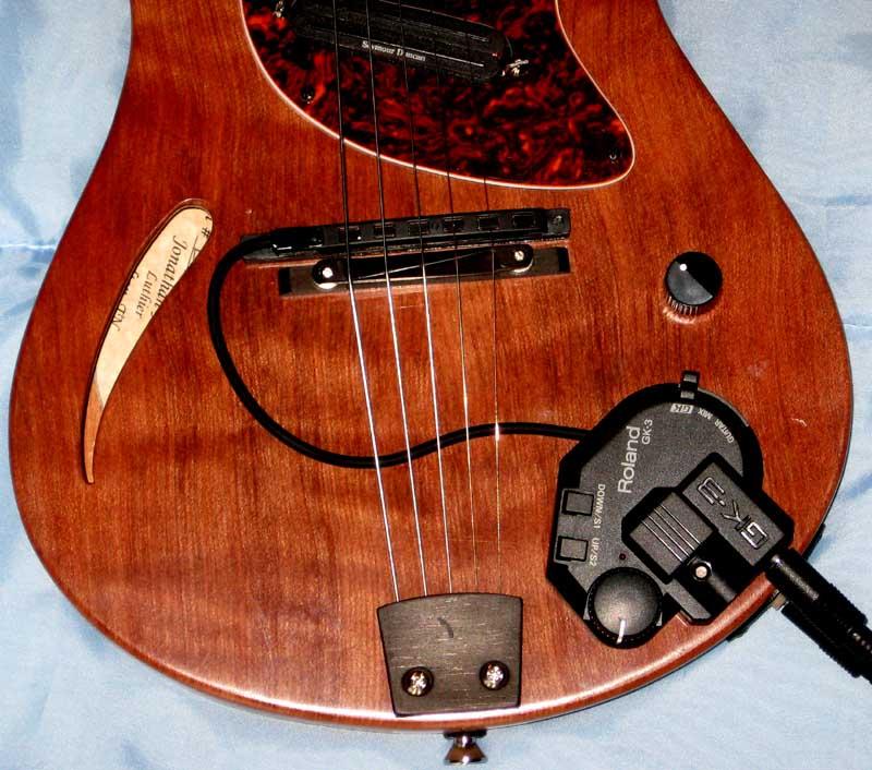 what 39 s new roland gk 3 midi pickup for mandolin. Black Bedroom Furniture Sets. Home Design Ideas